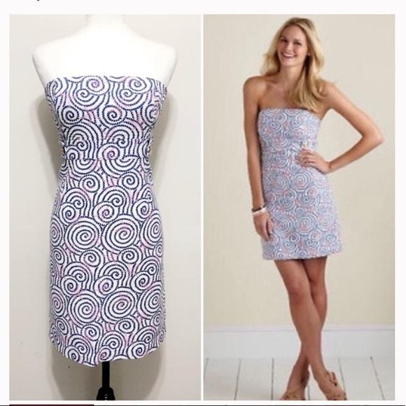 Vineyard Vines Dresses & Skirts - EUC Vineyard Vines nautical swirl dress size 6
